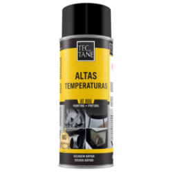 Spray Tinta Altas Temp 800°  Preto