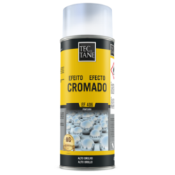 Spray Tinta Efeito Cromado