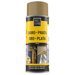 Spray Tinta Ouro Antigo AU 218 400 ml Tectane