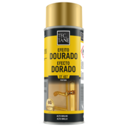 Spray Efeito Dourado