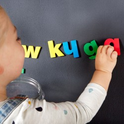 Kids Magnets Letras de espuma