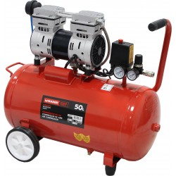 Compressor de Ar Silencioso 50L 1HP - MADER® | Power Tools