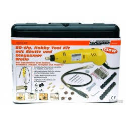 Hobby Tool Mini Berbequim 130W 80pc